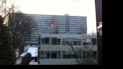 Grote brand in flatgebouw Ede | NU - Het laatste nieuws het eerst op NU.nl