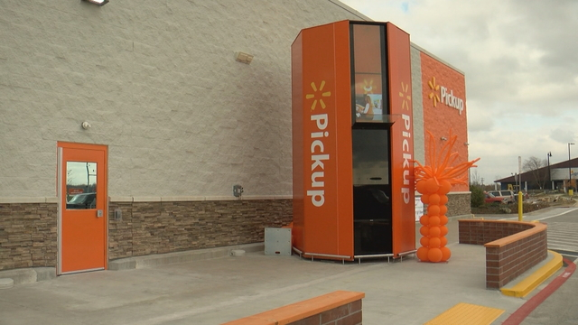 Walmart Opens First Outdoor Pickup Tower in NWA