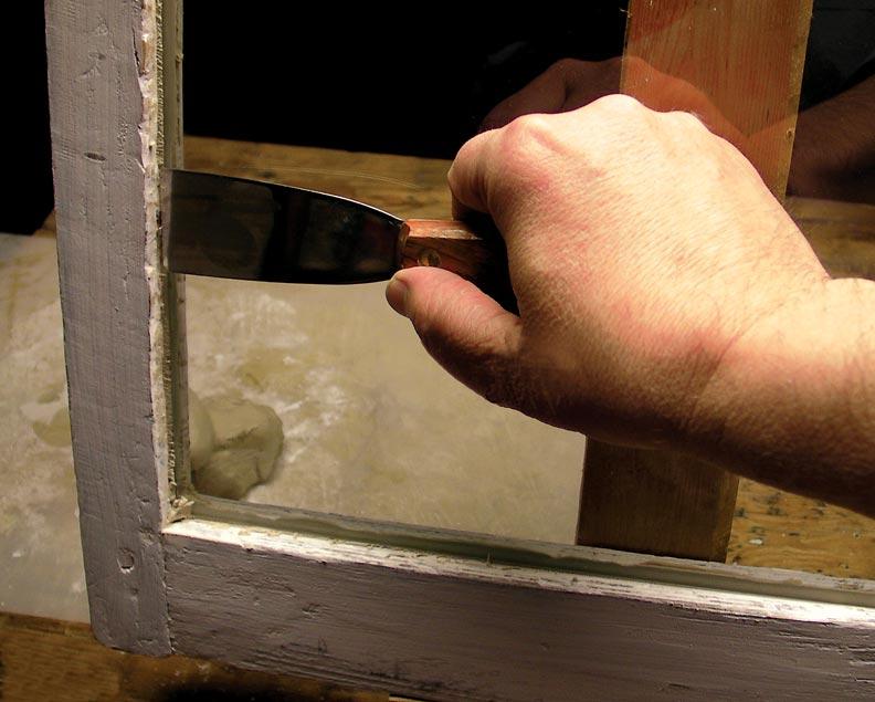 how to repair old window pane