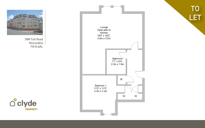 Toll Road Kincardine Falkirk Fk10 4rl 1 Bed Apartment