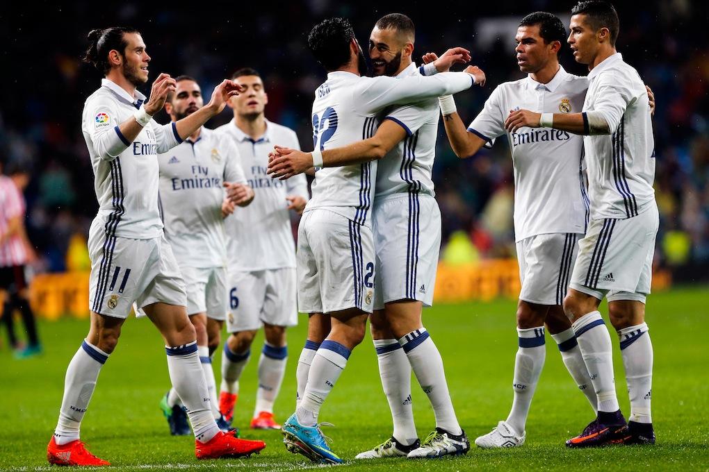 Sans James Rodriguez ni Marcelo à Varsovie — Real Madrid