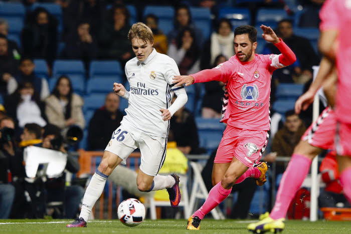 Real Madrid : Ødegaard a assisté au match Rennes-ASSE