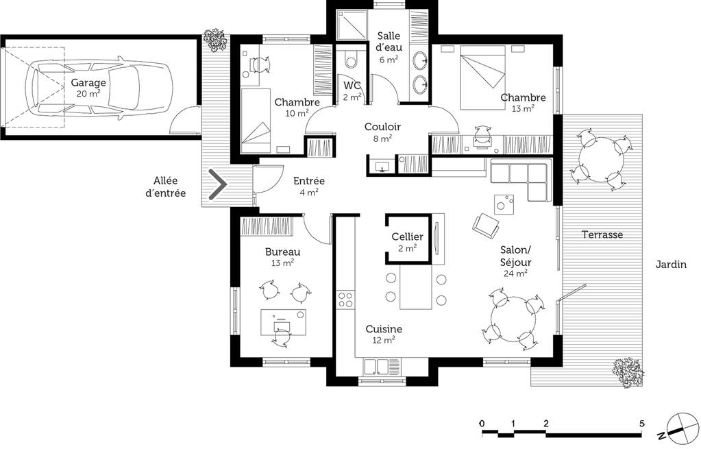 Plan Maison Cubique Auto Electrical Wiring Diagram
