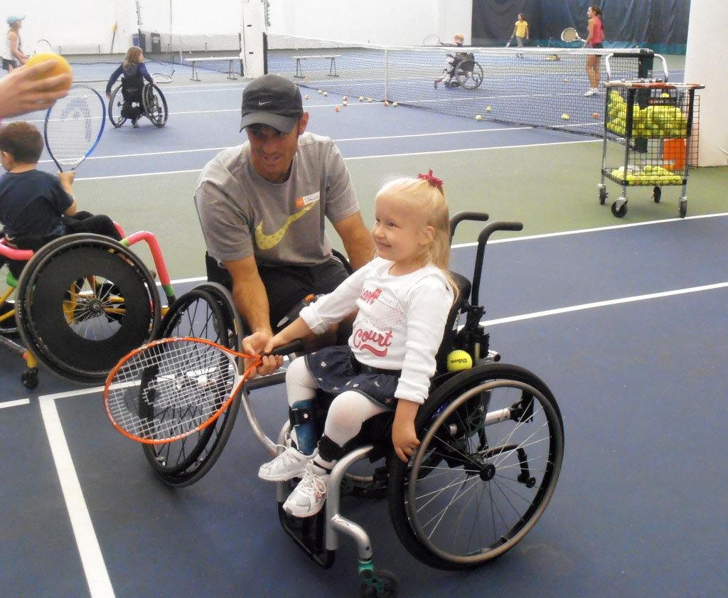 Children Find Confidence In Beaverton Wheelchair Tennis