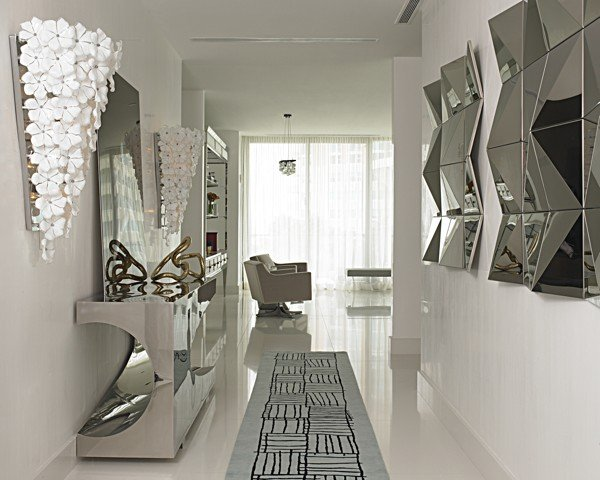 Designer Garderoben Set Interior Design News & Notes: Metallics; Monograms And
