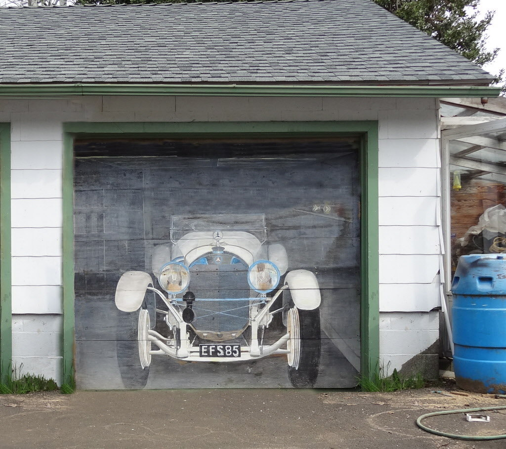 Bauzeichnung Garage Outdoor Murals Dress Up Sheds Garages And Blank Walls