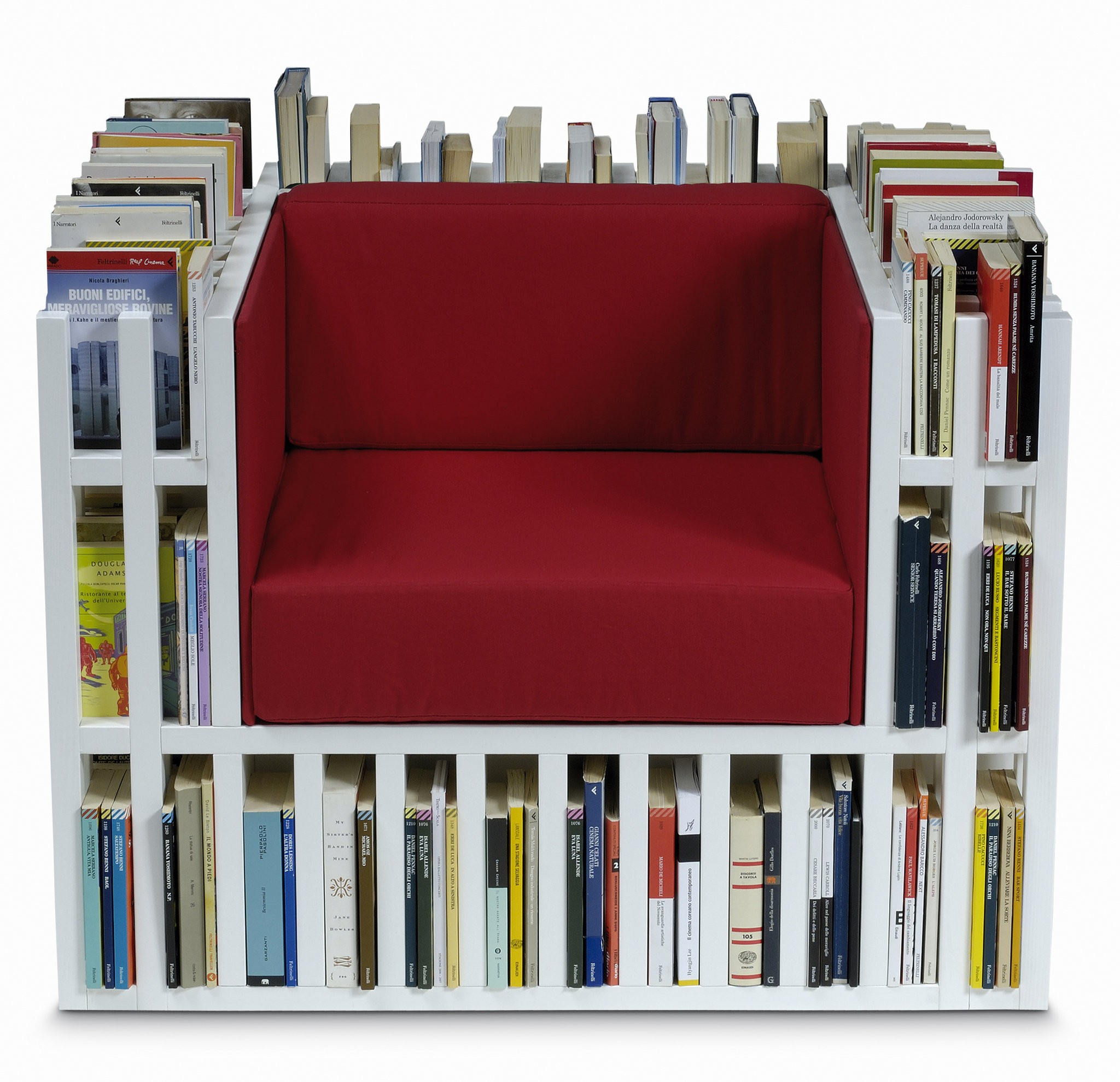 Cool Reading Chairs One Cool Or Crazy Thing Bibliochaise Is A Chair And A
