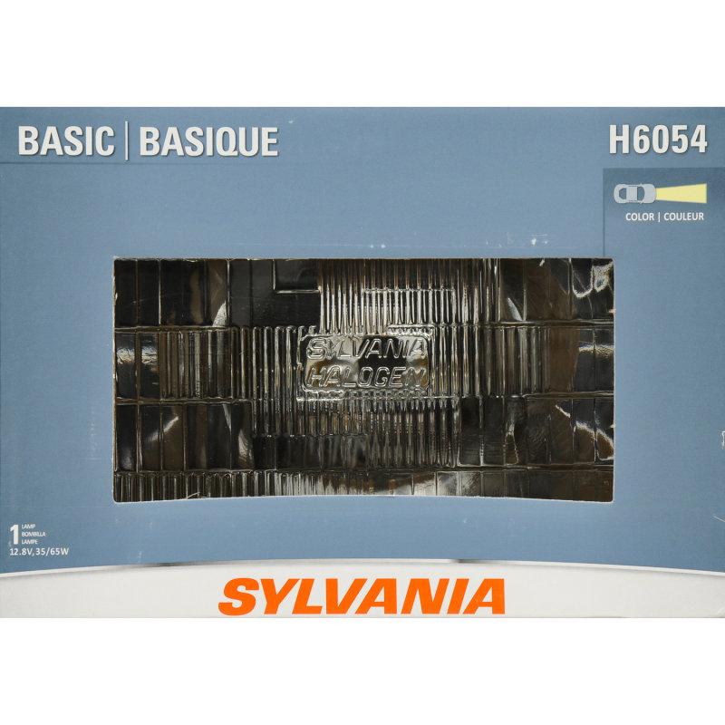 SYLVANIA H6054 6Basic Headlight Bulb SYLVANIA Automotive