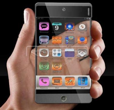 iPhone transparent. La prochaine génération de téléphones cellulaires - Paperblog