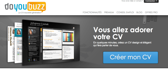 faire son site cv utilite