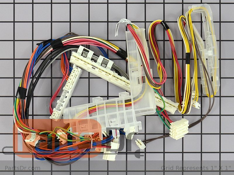 00751396 - Bosch Dishwasher Cable Harness Parts Dr