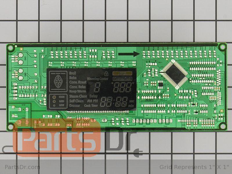 bosch range oven circuit board parts parts dr