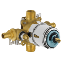 PTR188700-PXWS - Tub and Shower Valve Body With Stops ...