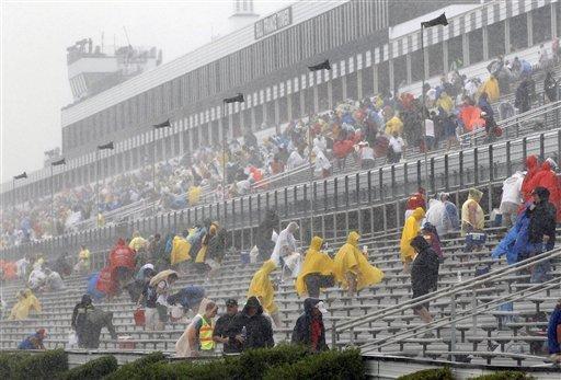 Some question Pocono Raceway warnings before fatal lightning strike