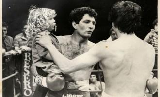Aunque Martín siempre lo acompañó, Látigo no quería que su hijo fuera boxeador.