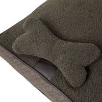 Wainwright's Quilted Mattress Dog Bed with Bone Pillow ...
