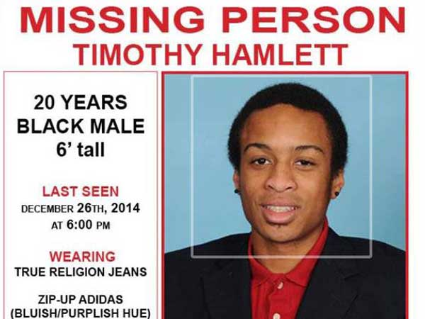 Missing Person Timothy Hamlett Missing in NJ Liar Catchers Blog - missing person flyer