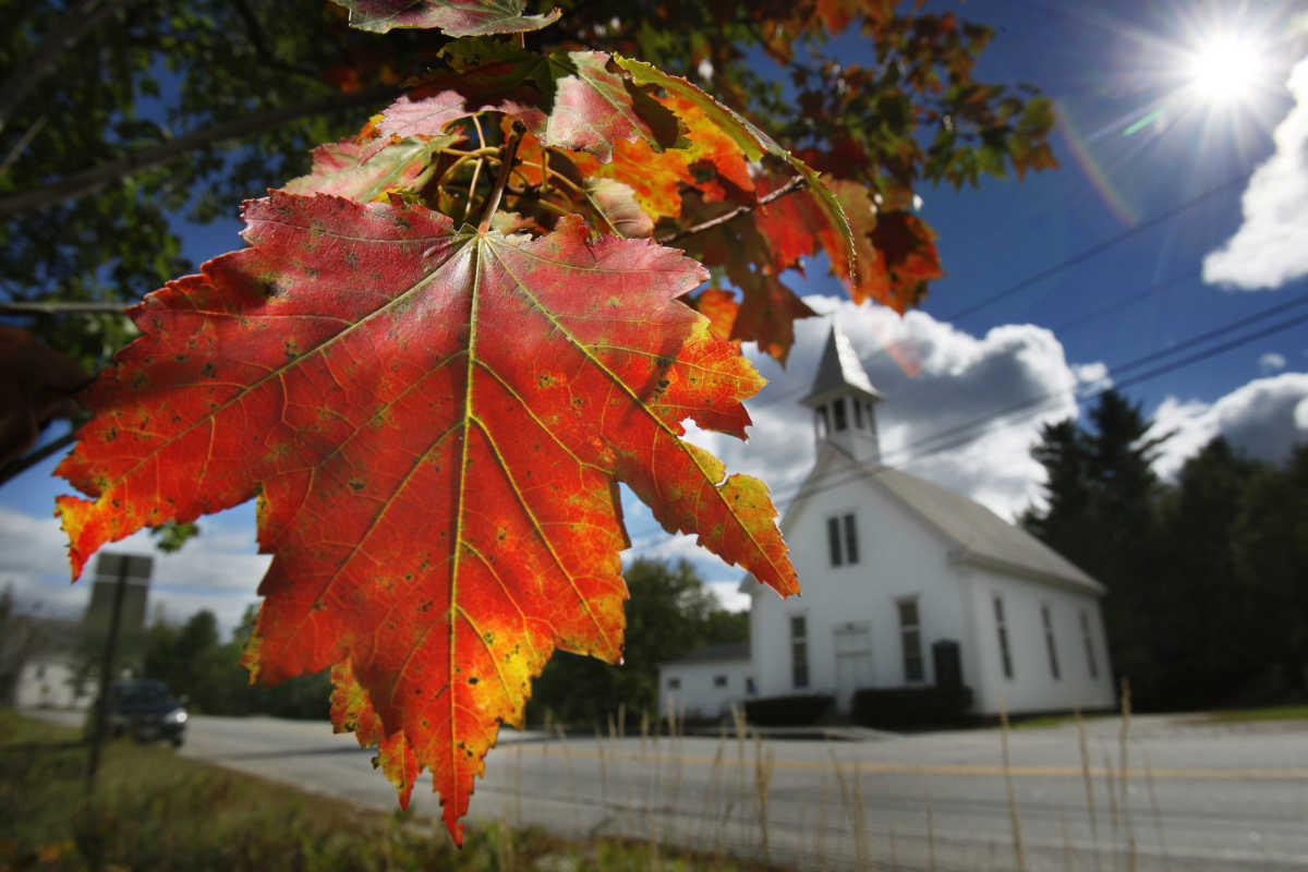 Vermont Fall Foliage Wallpaper As Colors Change A National Guide To Leaf Peeping
