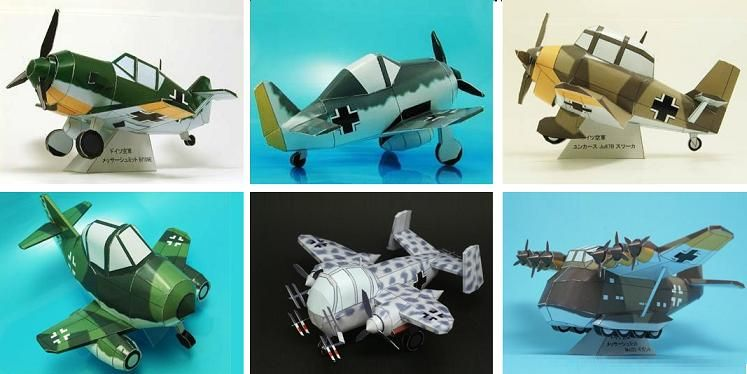 231 best Paper model images on Pinterest Papercraft, Paper - how would you weigh a plane without scales
