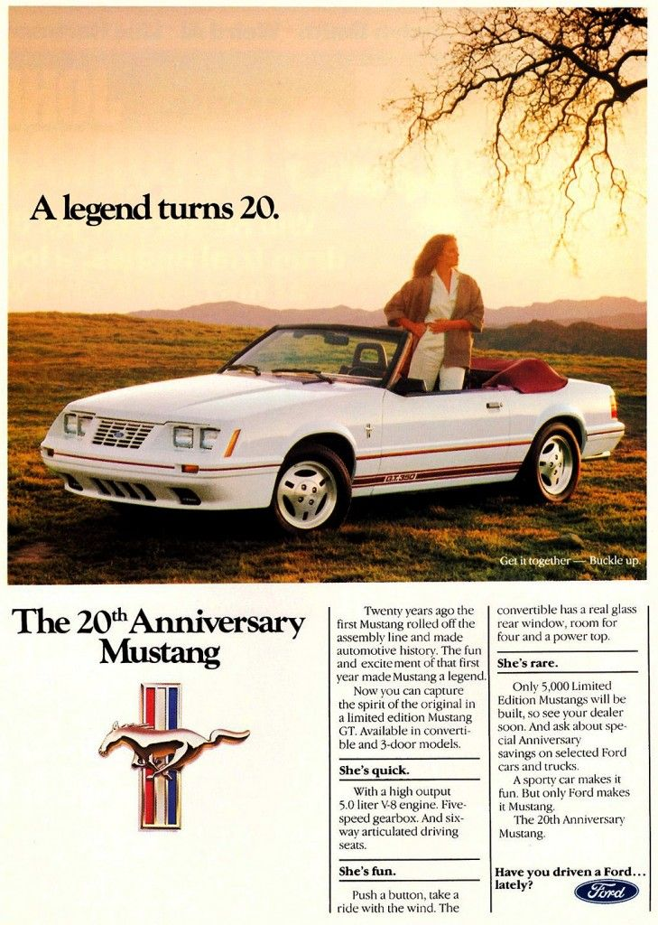 147 best Ford Mustang 1972 and Beyond images on Pinterest Cars - advertisement brochure