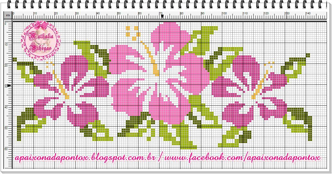 367 best Ponto cruz flores \/ borboletas \/ laços images on - ph chart