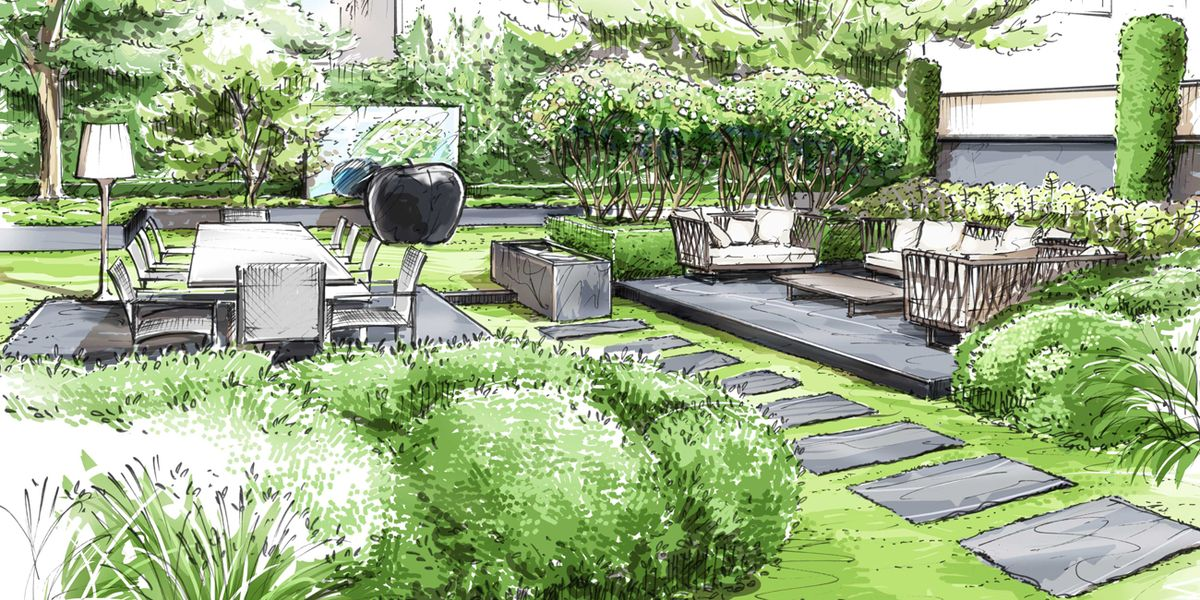 118 best Garden Design Drawings images on Pinterest Yard design
