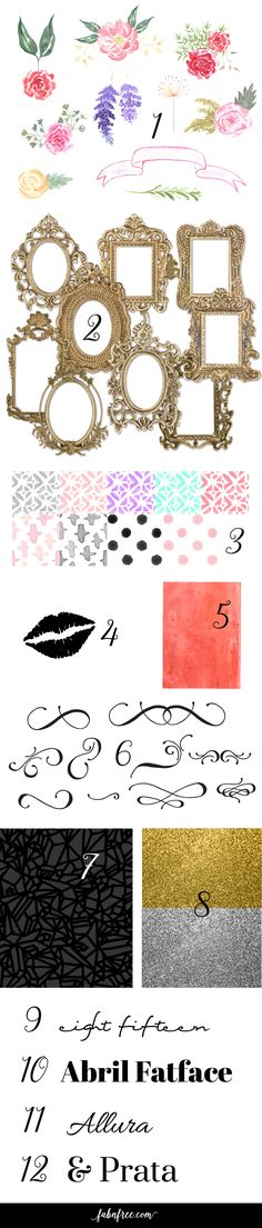 109 best Free Graphic Design Elements images on Pinterest - print free graph paper no download