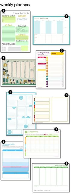 69 best Bullet Journals and Planner Printables images on Pinterest