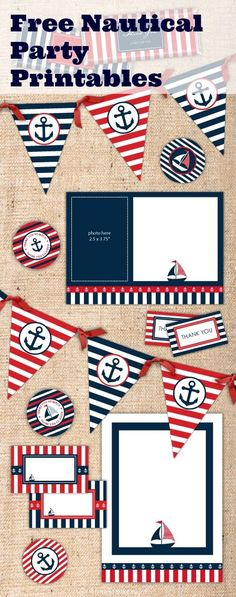 124 best Nautical Printables images on Pinterest Birthdays - pages invitation templates free