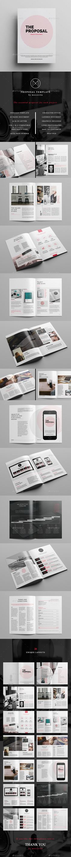 10 best Tender \ Proposal Layouts images on Pinterest Bespoke - proposal layouts