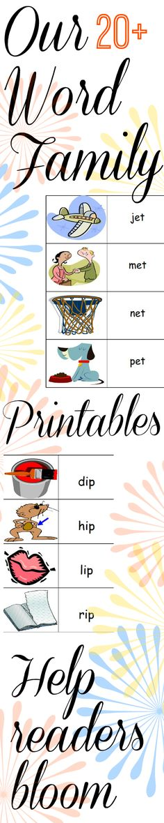 101 best Teaching Word Families images on Pinterest School - sample paper doll
