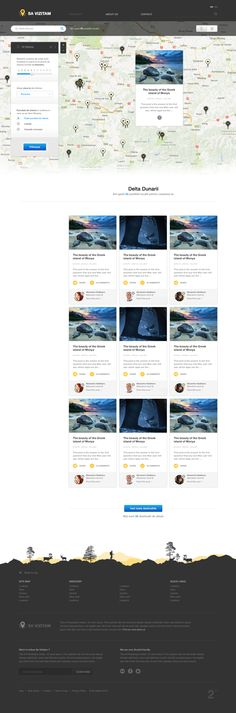 ... Price List Design Template. 30 Best UI\/UX ➞ Map \ Store Locator Images  On Pinterest Maps