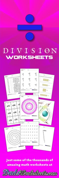 180 best Division Worksheets images on Pinterest Long division - beast workout sheet