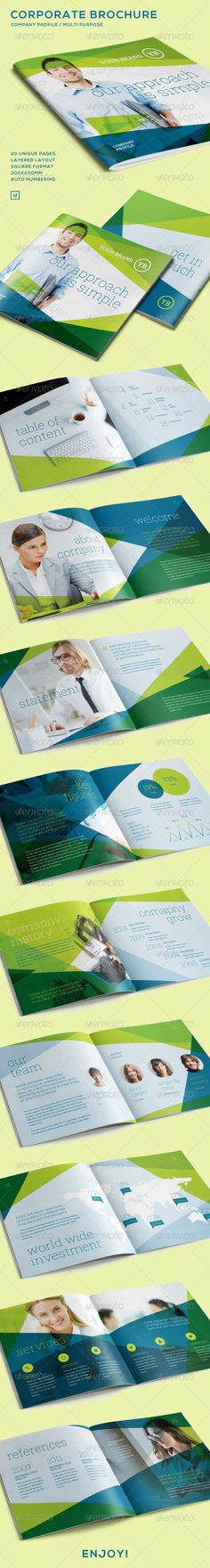 119 best Annual Reports images on Pinterest Annual reports - proposal layouts