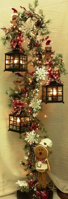 601 best ☃Christmas \ Winter☃ images on Pinterest Christmas - simple christmas tree decorating ideas