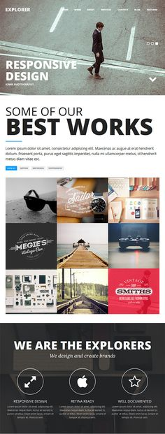 32 best HTML5 Templates images on Pinterest Html templates - Html Resume Template