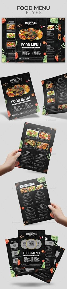 259 best Food Menu Templates images on Pinterest Menu templates - food brochure