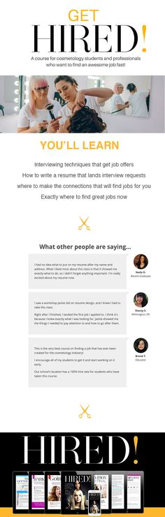 149 best Beauty Industry Business images on Pinterest Business - when emailing a resume