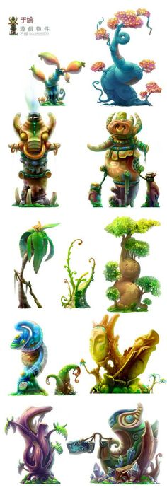 112 best foliage images on Pinterest Alien creatures, Aliens and - artistic skills