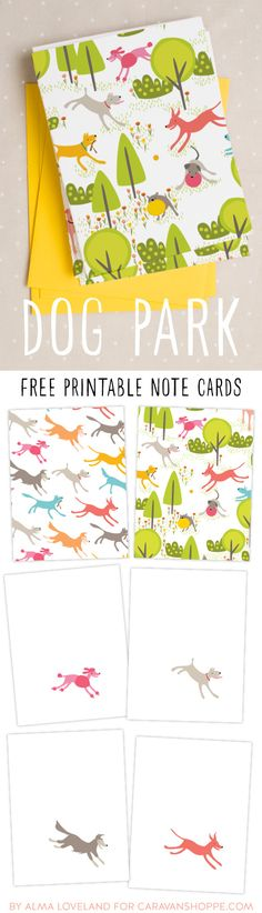 103 best Dog - DIY - Free Printables images on Pinterest Doggies - birthday card layout