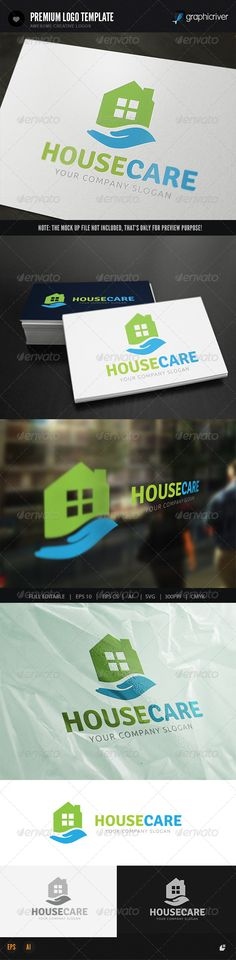 38 best House Logo Template images on Pinterest Home logo, Logo - house for rent template