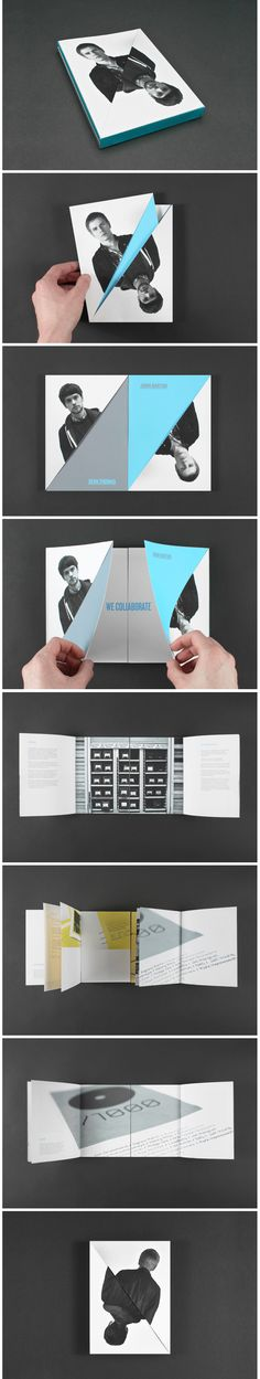 150 best Brochures design images on Pinterest Graph design - folded brochure