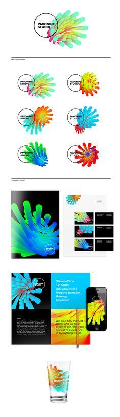 151 Best Dynamic \ Modular Logos \/ Identities Images On Pinterest   Sample  College Brochure
