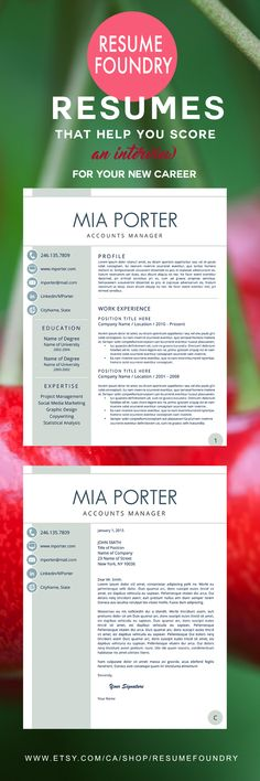 306 best Awesome CV Template images on Pinterest Cv template - action words to use in a resume