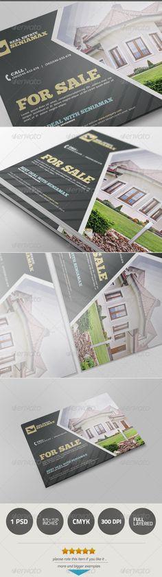 13 best Real Estate Postcards images on Pinterest Postcard - real estate newsletter template