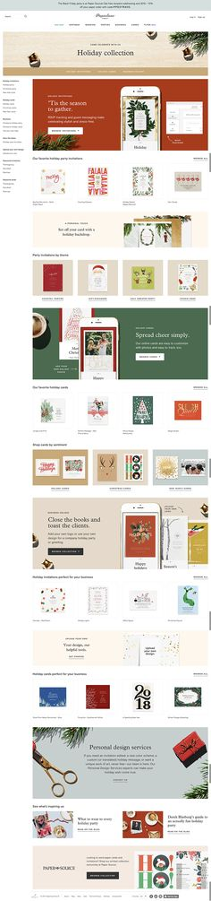130 best gifting images on Pinterest Brand design, Brand - holiday newsletter template
