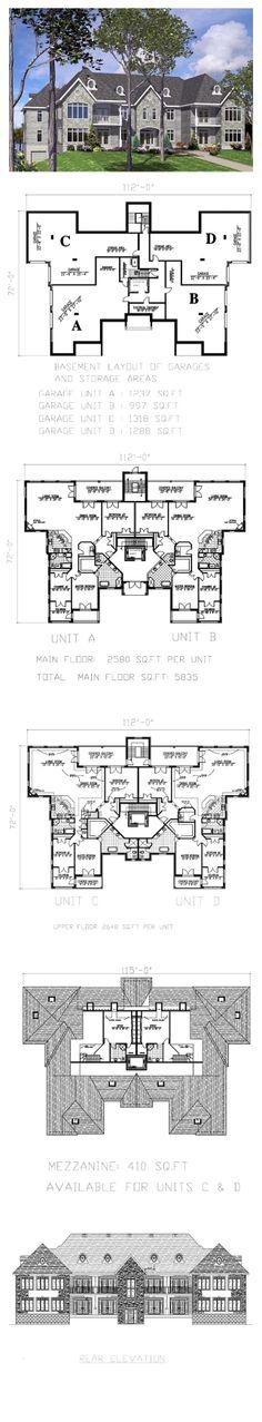 26 best Duplex \ Multiplex Plans images on Pinterest Floor plans