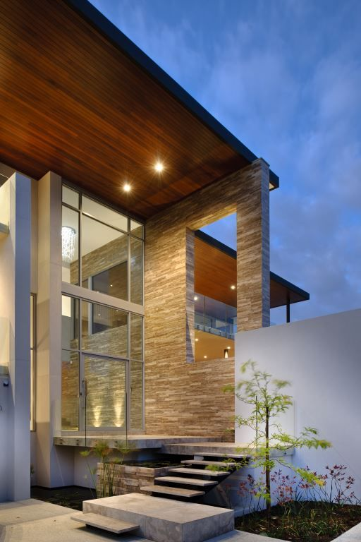 8 best EXTERNAL FEATURE WALLS images on Pinterest Colours - concrete wall design example