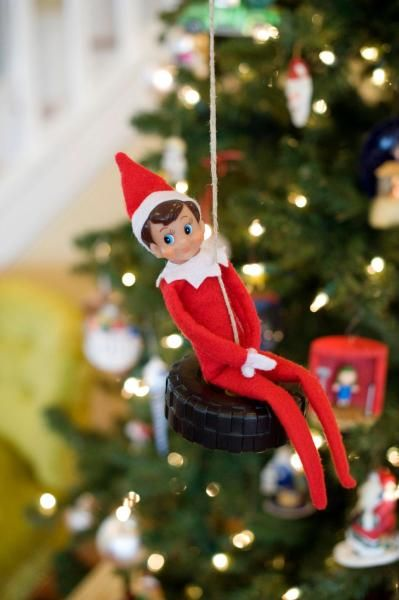 116 best Elf on the Shelf images on Pinterest Xmas, Christmas - simple christmas tree decorating ideas
