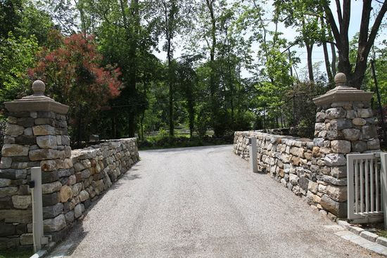 139 best Stone walls images on Pinterest Stone, Architecture and - Design Of Retaining Walls Examples